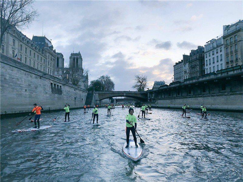 從河上可以看到完全不一樣的風景  / 來源: Happy Seine
