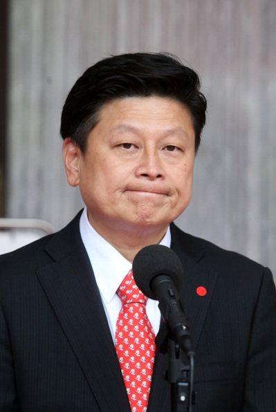 立委傅崐萁因炒股案遭判刑二年十月定讞,昨天報到服刑。圖/聯合報系資料照片
