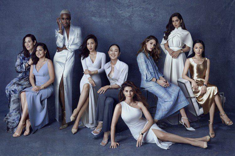 伯爵宣布了十位超凡女性,集結品牌摯友或代言人,展現鮮明的女性力量與成就。圖 / ...
