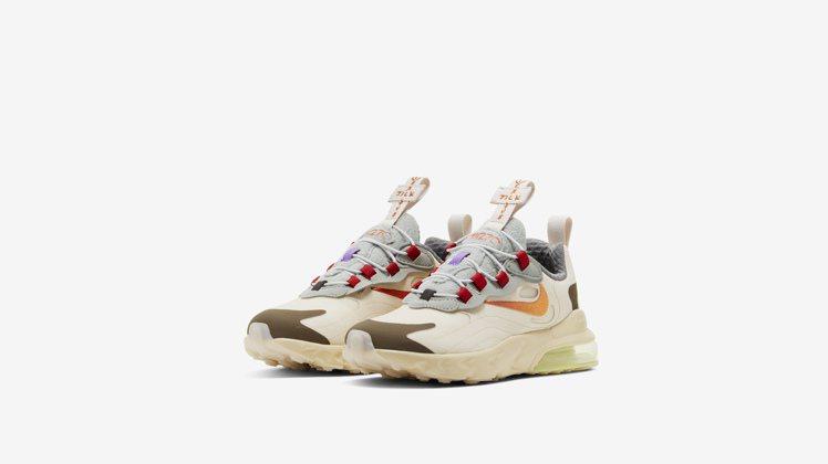 Nike與Travis Scott聯名 Air Max 270童鞋3,900元。...