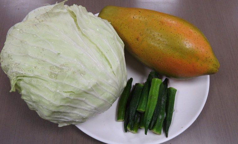 營養師推薦的養胃食物。圖/台南市立醫院提供