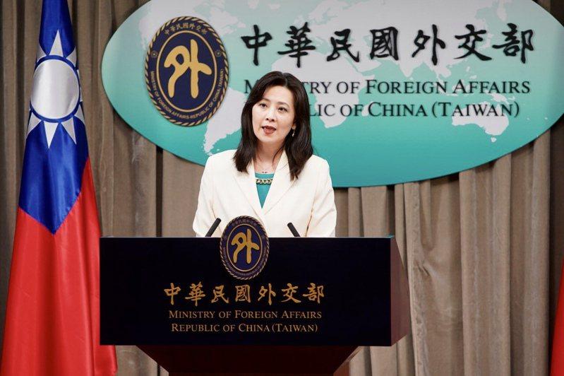 外交部發言人歐江安。外交部提供