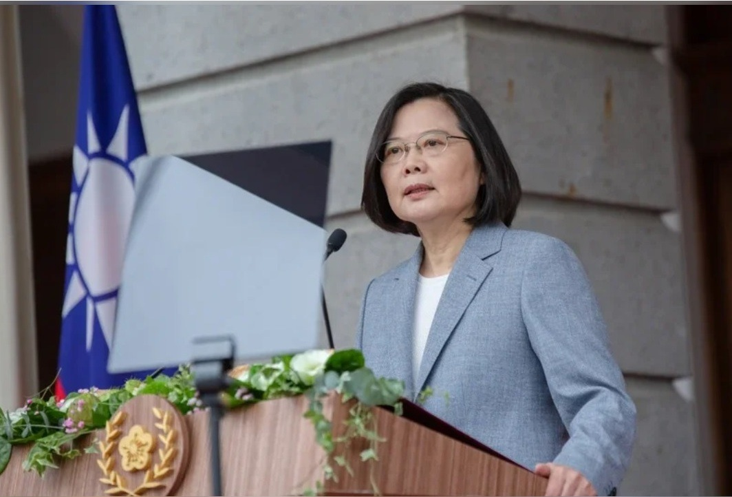 「港版國安法」通過 蔡英文:不會坐視民主、自由、人權在香港倒退