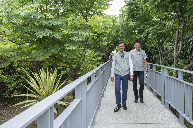 17公里海岸線休憩中繼點的紅樹林公園今正式啟用,有望成為新的觀光客打卡熱點。圖/新竹市政府提供