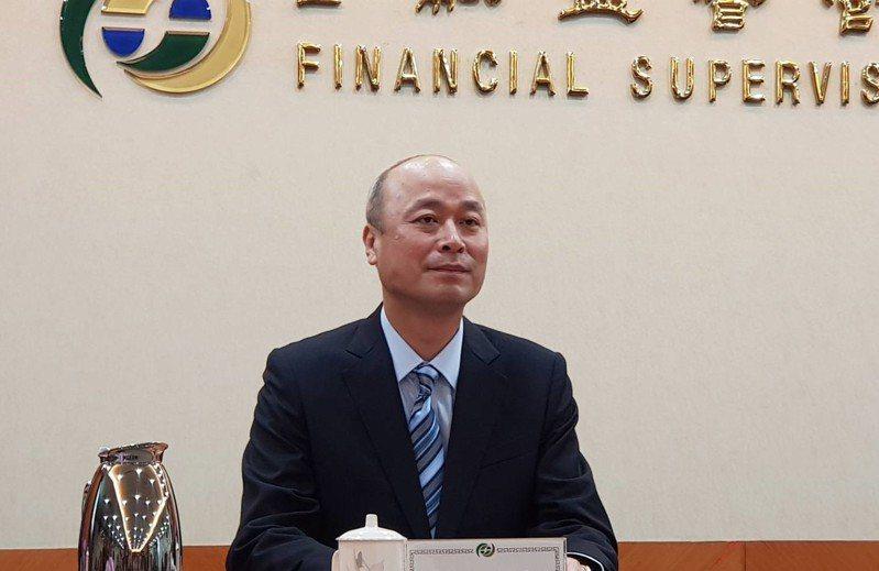 新任金管會副主委許永欽,今首度在媒體前亮相。記者戴瑞瑤/攝影