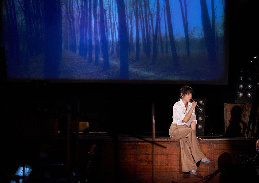 劉若英上月舉辦直播演唱會。圖/相信音樂提供