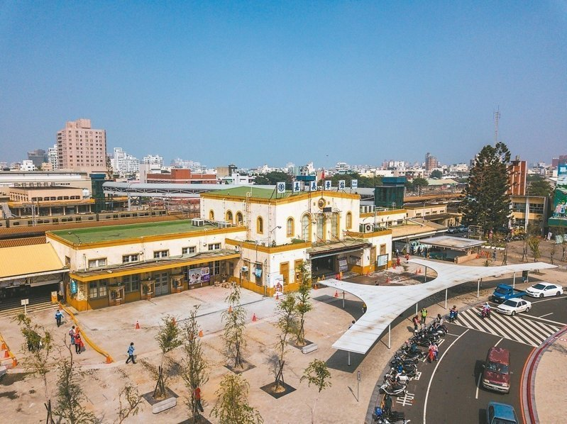 嘉義市鐵路高架化在即,新的嘉義車站將成為地標。圖/嘉義市府提供