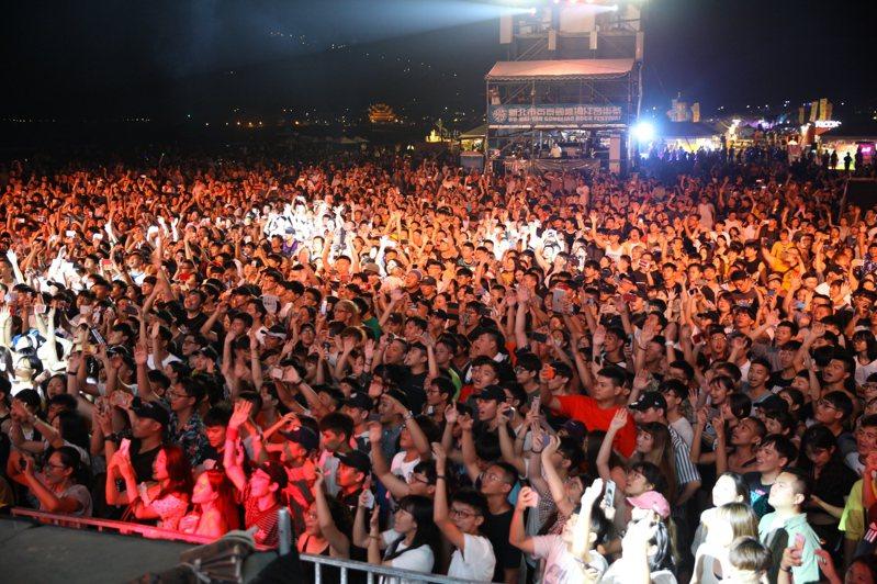 新北市府宣布停辦2020貢寮海洋音樂祭。圖/新北觀光旅遊局提供