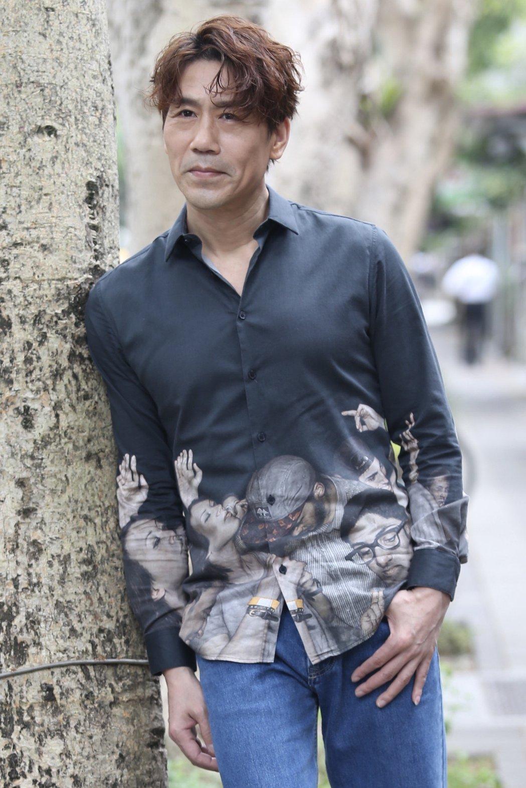 羅時豐出道35周年,曾陷低潮想引退。記者林俊良/攝影