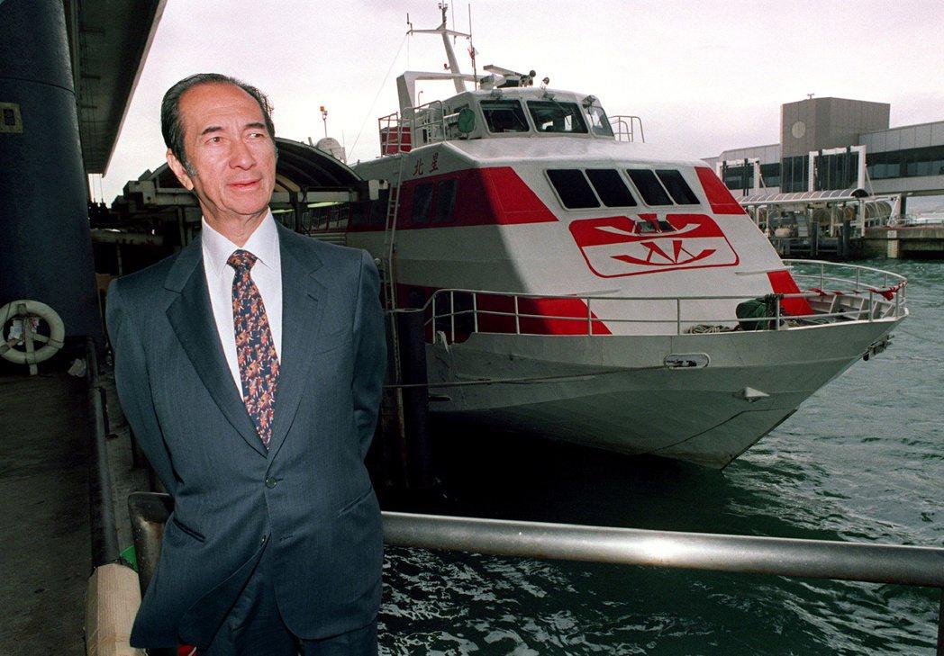 澳門賭王何鴻燊26日病逝,傳奇的一生畫下句點。(路透資料照片)
