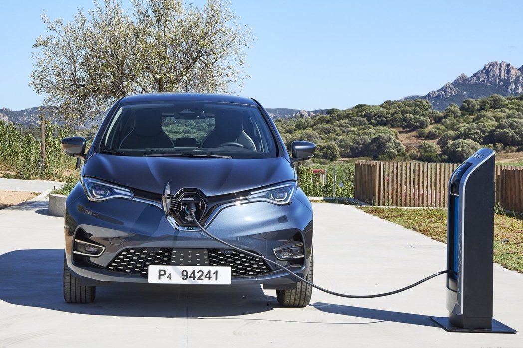 新世代Renault Zoe純電小車。 摘自Renault