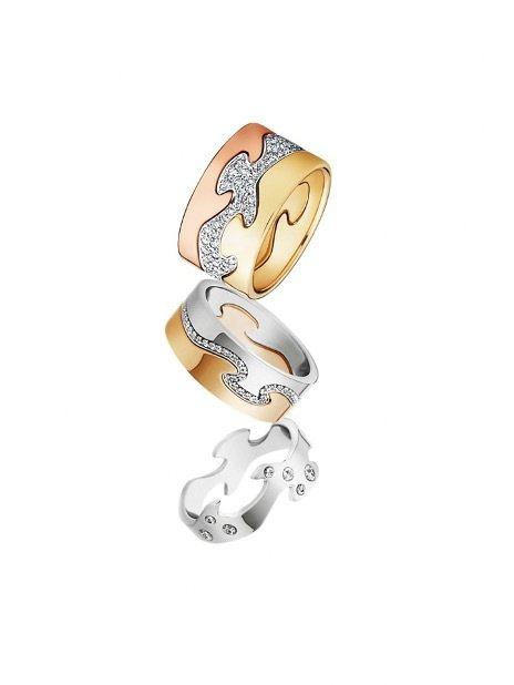 Fusion系列戒指。 圖/Tatler Taiwan提供