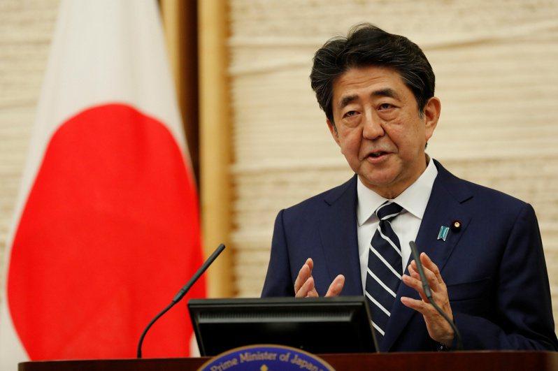 日本首相安倍晉三。 路透社
