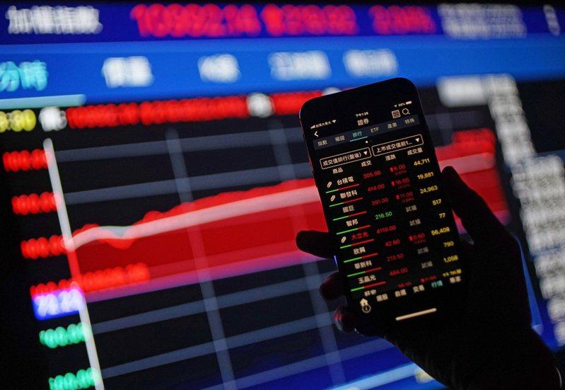 台股也再創3月19日落底後反彈新高,盤中最高來到11087.53點。 中央社