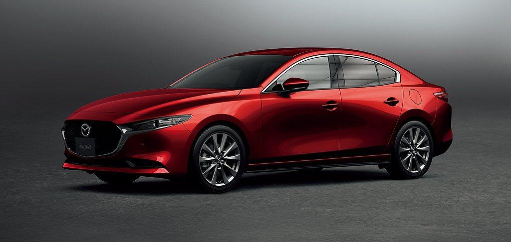日規全新第四代Mazda 3房車新增1.5L汽油引擎,再提供100周年特別記念車...