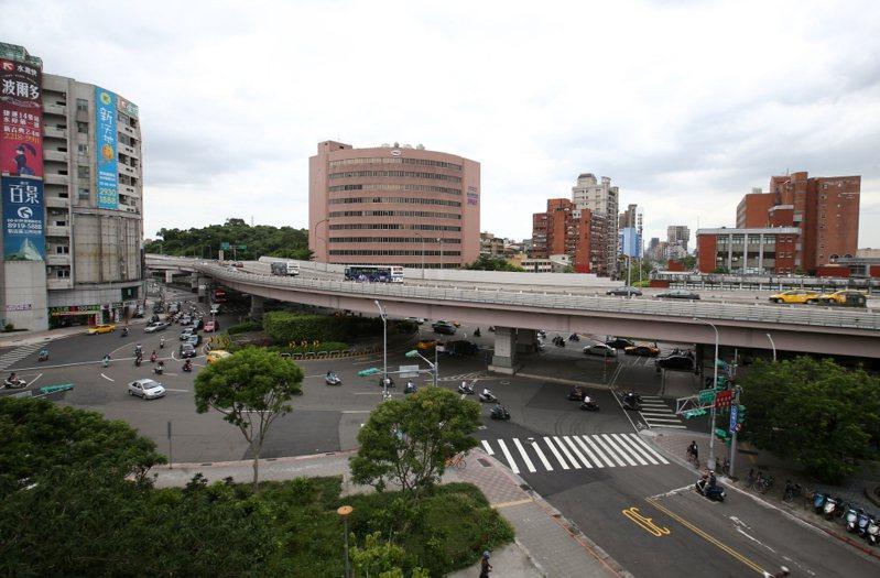 台北公館圓環。 圖/聯合報系資料照(記者林澔一/攝影)