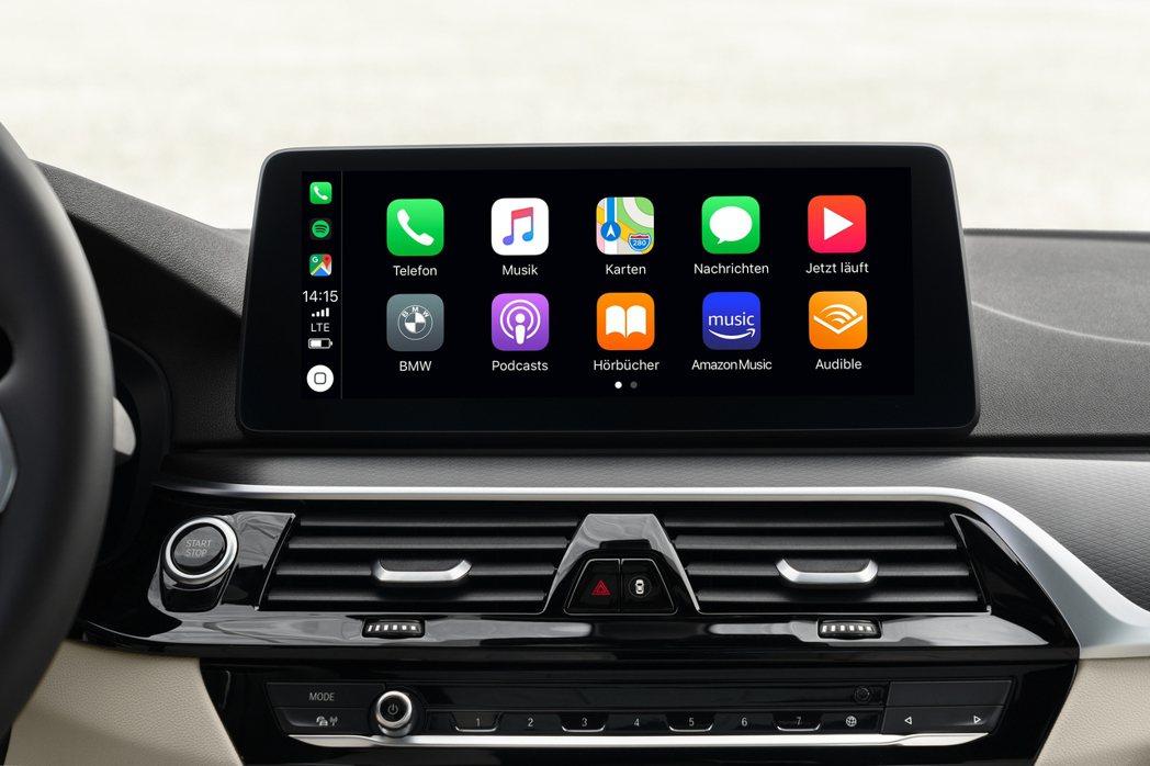 小改款BMW 5 Series Sedan/Touring 提供Apple Ca...