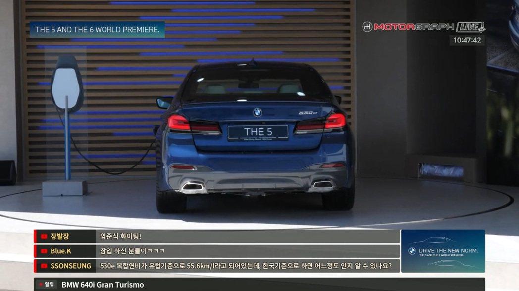 因5 Series在韓國十分暢銷,讓BMW相當重視韓國市場,所以才將小改款5 S...