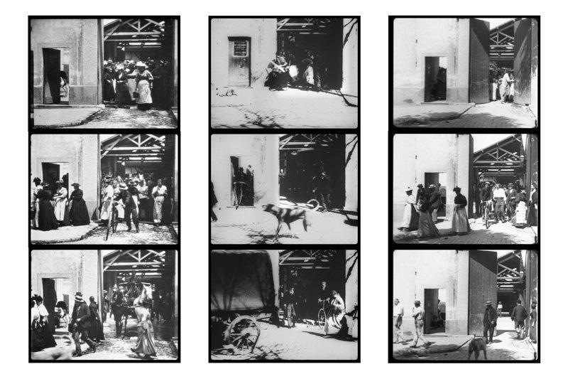 早期電影多以再現真實為主,盧米埃兄弟的《火車進站》是起點。 圖/維基共享