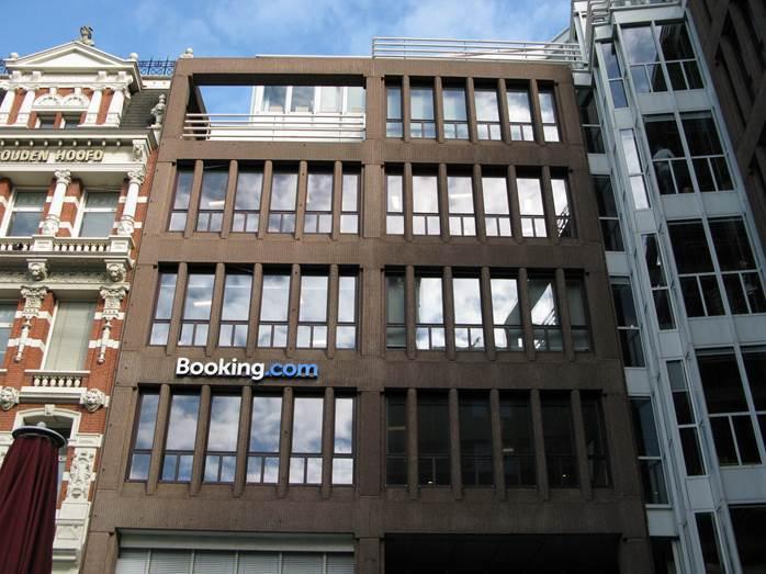 Booking.com Headquarters Amsterdam,圖片來源:Wakuwaku99@維基百科