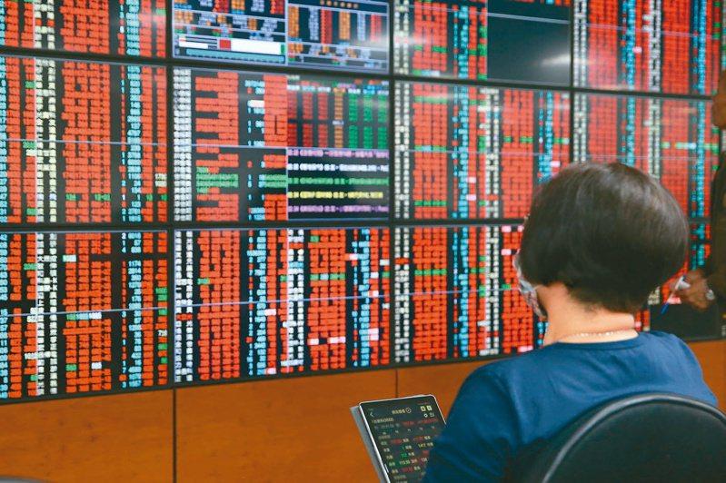 國安基金被授權進場已超過兩個月,台股昨天一度跨過「萬一」關卡。圖/聯合報系資料照片