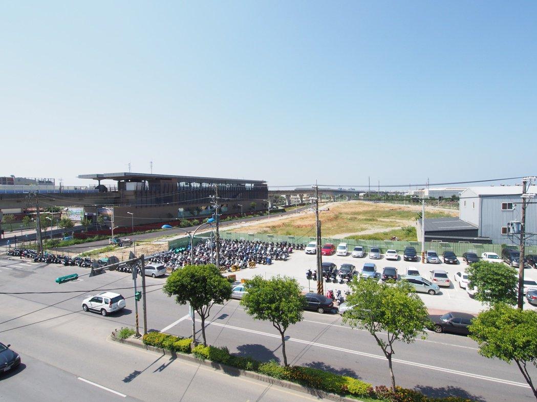 A10站住宅區土地以每坪37萬標脫,創區域新高。圖/台灣房屋提供