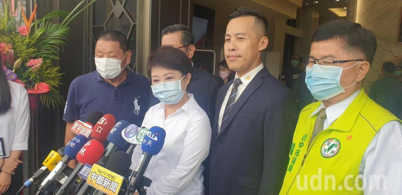 台中市長盧秀燕今天說,台中市將有放疫3解禁。記者游振昇/攝影