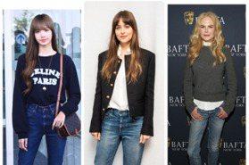 來看神級比例大長腿 BLACKPINK Lisa、達珂塔強生美穿CELINE牛仔褲顯氣質