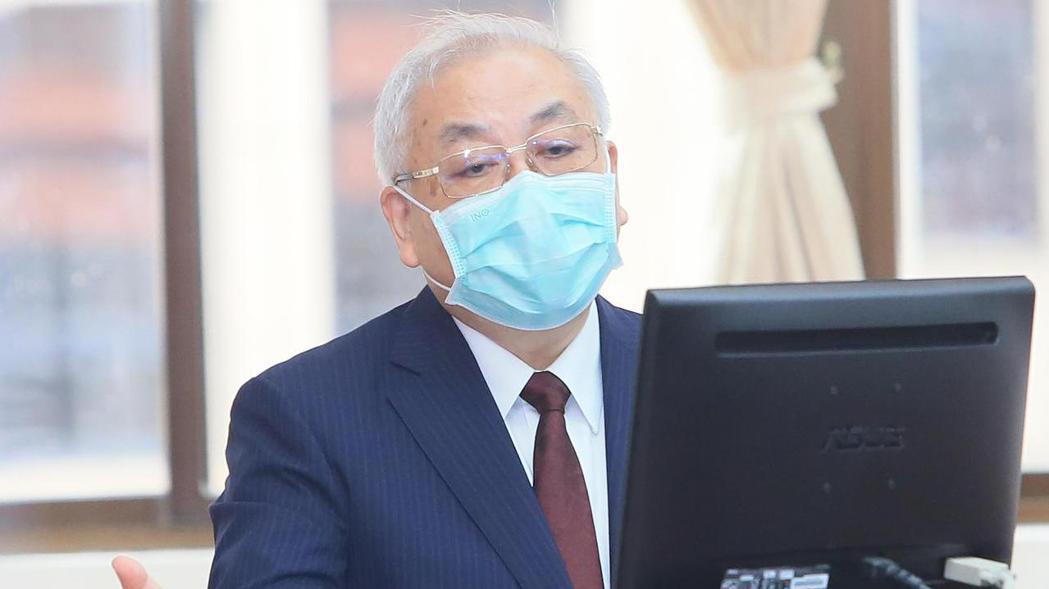 主計長朱澤民今天在立法院表示,政府最終會負起勞保給付的責任。 記者潘俊宏/攝影