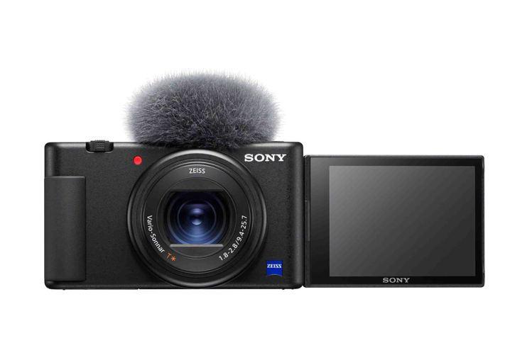 Sony ZV-1,單機建議售價19,980元;輕影音手持握把組合,建議售價23...