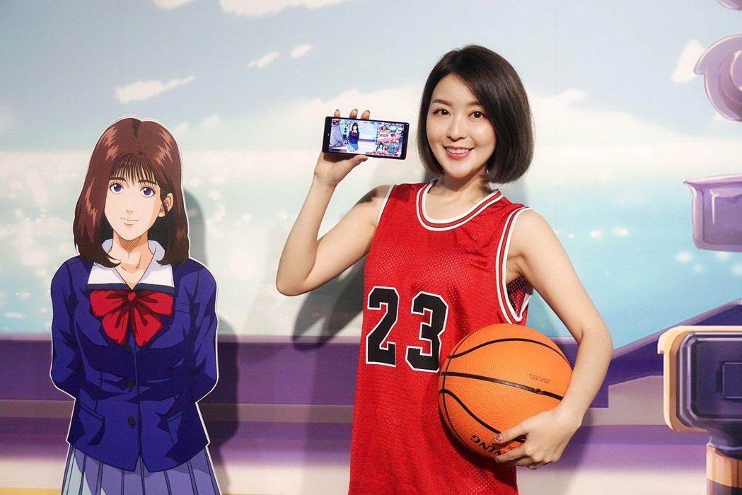 全新籃球競技手遊《灌籃高手 SLAM DUNK》今日於雙平台正式上線。記者黃筱晴...