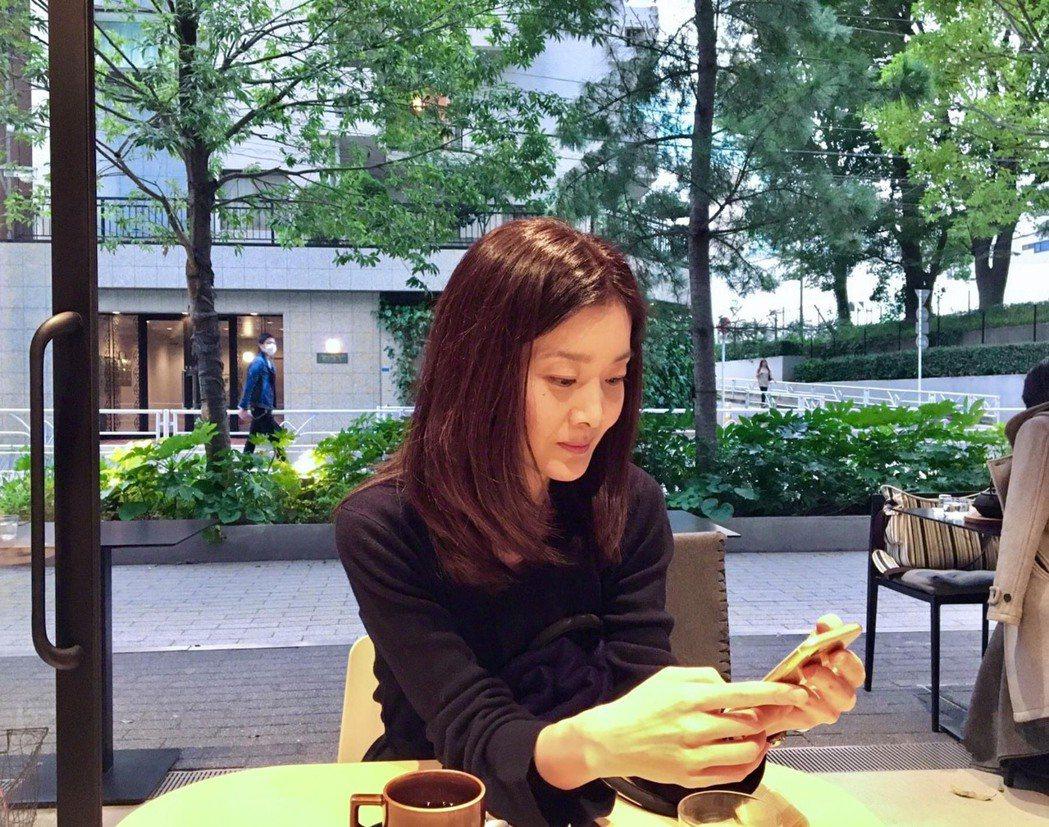 吳朋奉曾與小10幾歲的日籍女友久保寺淳子交往。圖/翻攝臉書