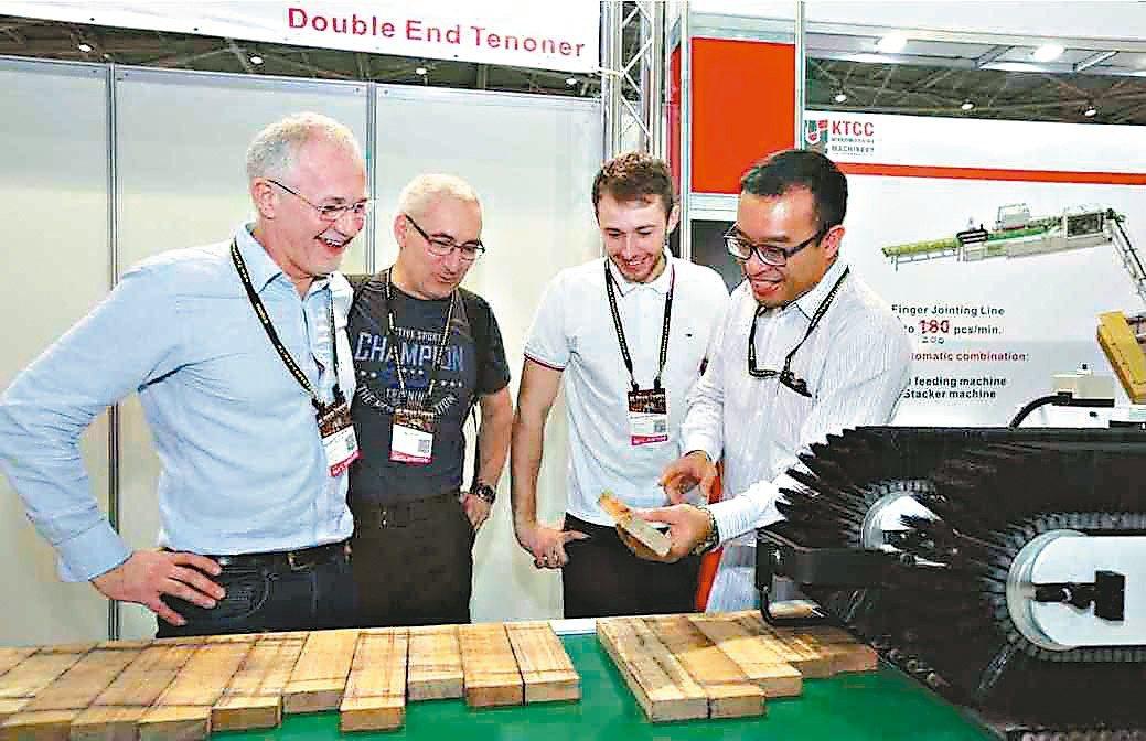 上屆(2018)台灣國際木工機械展現場。貿協/提供