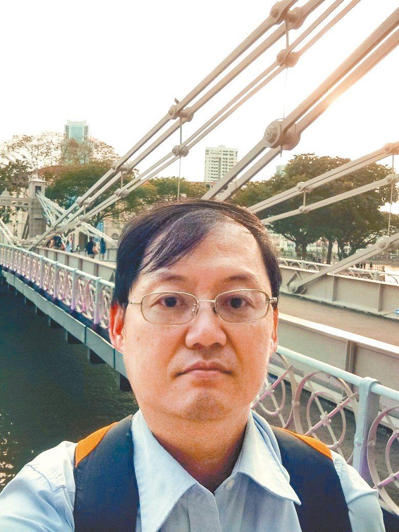 經濟部能源局組長吳志偉。吳志偉/提供