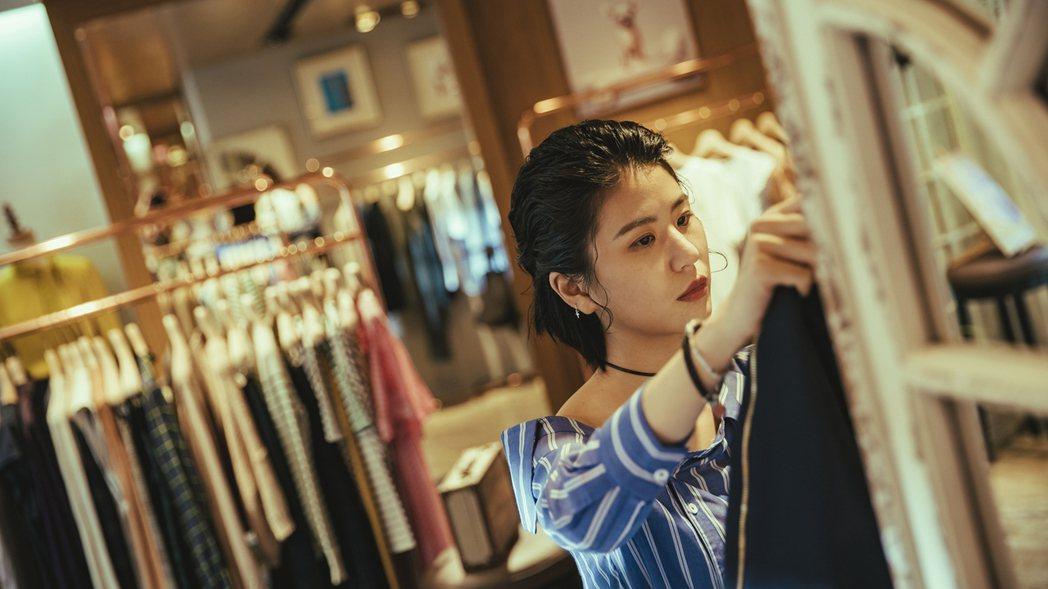 陳璇在「若是一個人」中飾演服飾店老闆娘。圖/華視提供