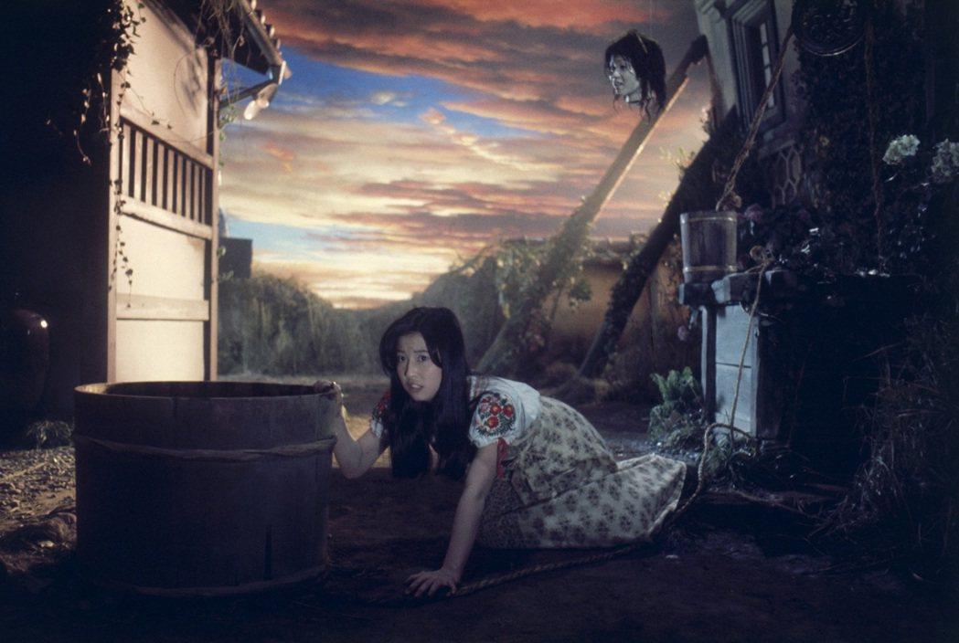 「鬼怪屋」充滿怪誕奇想,並探索少女內心深處所懼怕的東西。圖/台北電影節提供