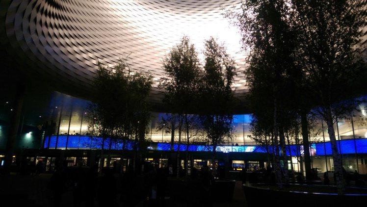 瑞士最大的巴塞爾表展會場。圖/曾士昕提供