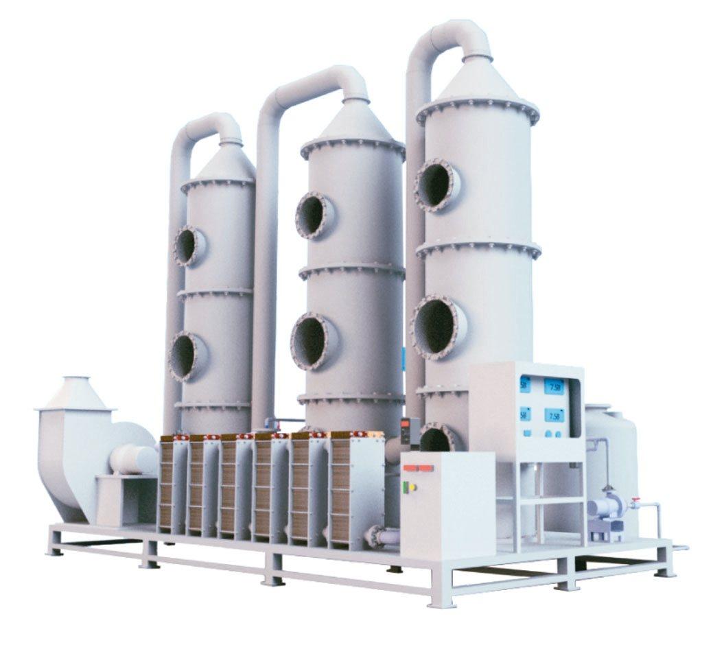 環創源科技研發的氨氮電解系統。 環創源/提供