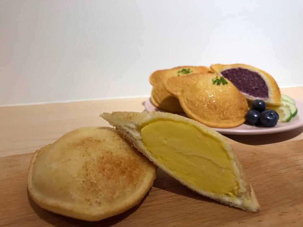 夏日新口味「芒果優格」芒果香濃郁順口。
