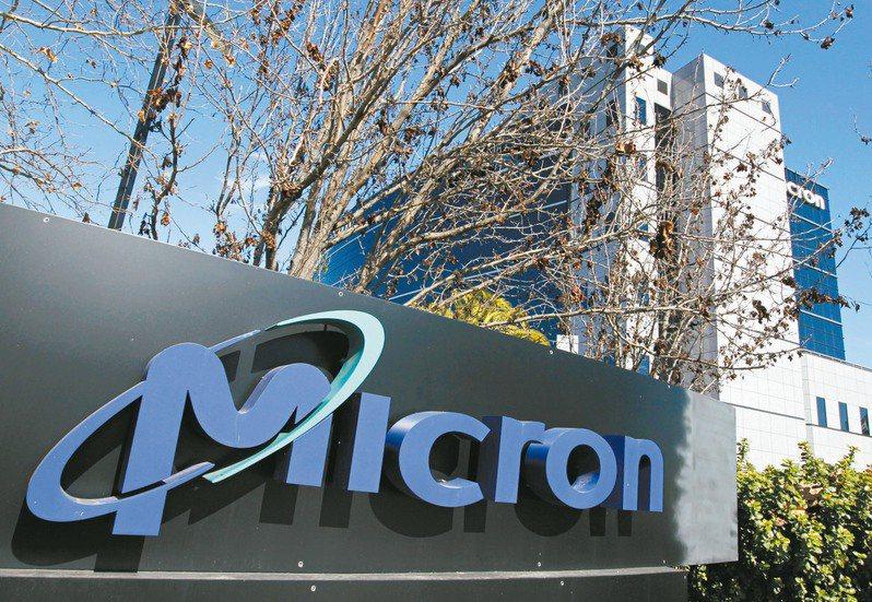 美國記憶體廠美光(Micron)調高今年第三季財測目標,台廠記憶體股早盤受到激勵上漲。圖/美聯社