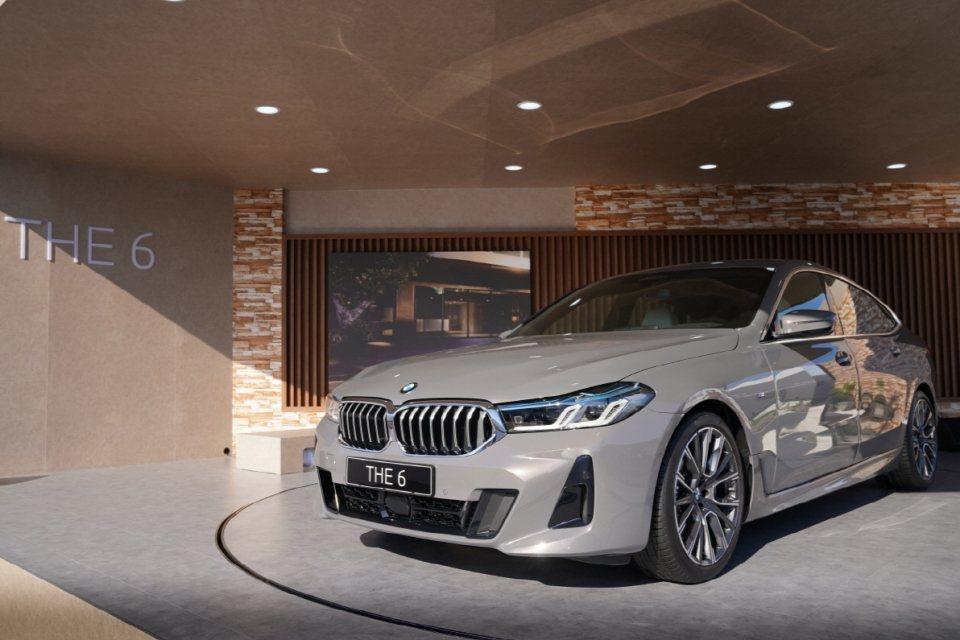 小改款BMW 6 Series Gran Turismo。 摘自Autohera...