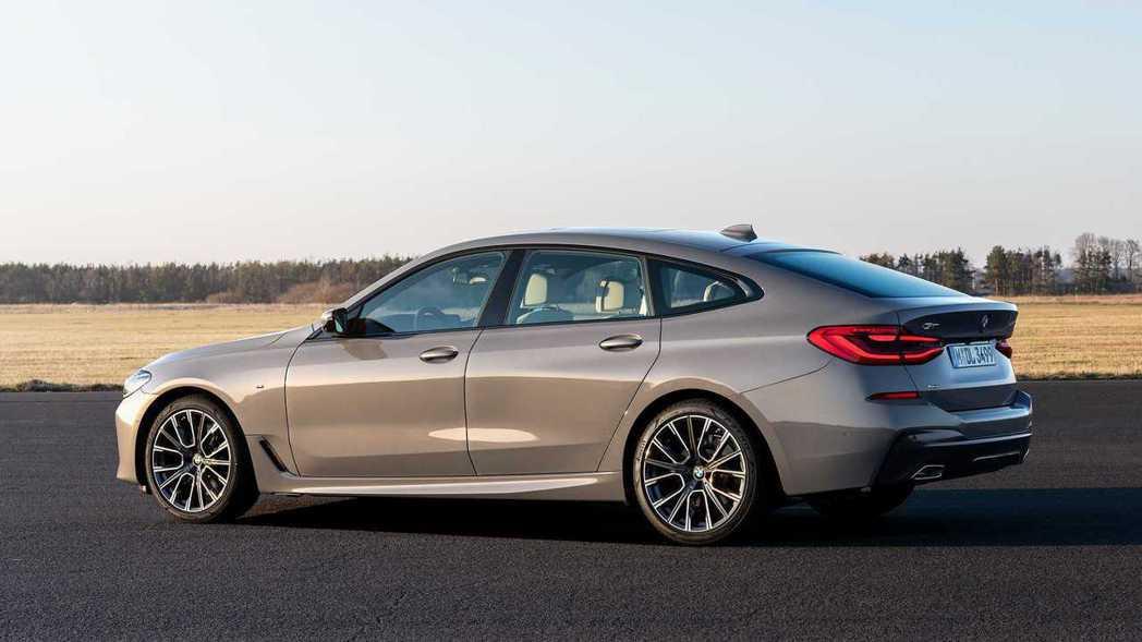 小改款BMW 6 Series Gran Turismo。 摘自BMW