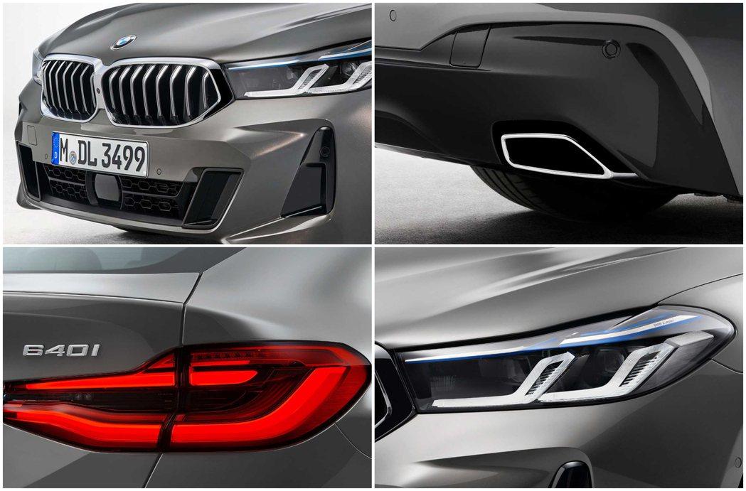 小改款BMW 6 Series Gran Turismo 外觀最大的改變即為換上...