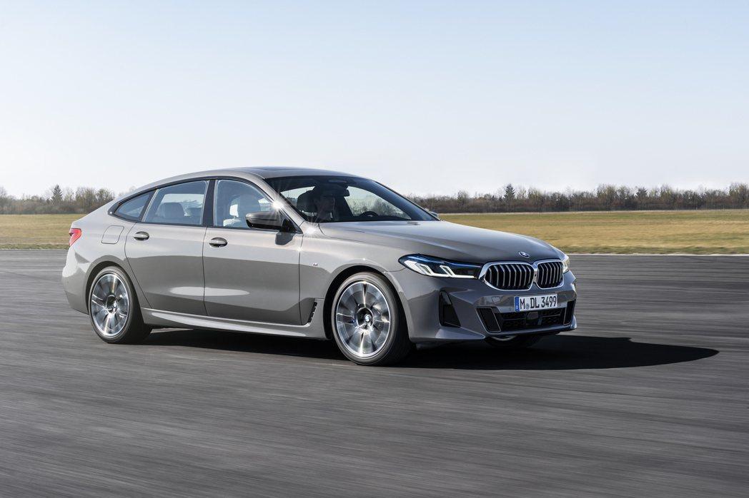 小改款BMW 6 Series Gran Turismo三具柴油動力包括了620...