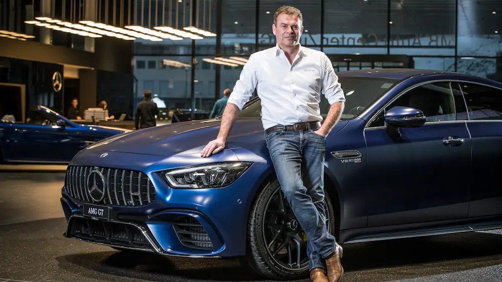 Tobias Moers轉戰Aston Martin就任首席執行官。 摘自Mer...