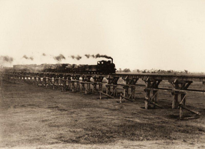 太平山森林鐵路。 圖/林務局羅東林區管理處提供
