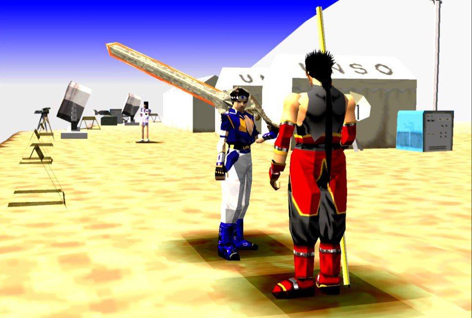 遊戲中的過場劇情都是用多邊形的即時演算動畫表現,搭配全日文語音,沒有字幕,在當時...