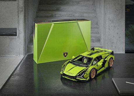 出這台我還不買爆! LEGO Technic Lamborghini Sián FKP 37 6/1搶先首賣