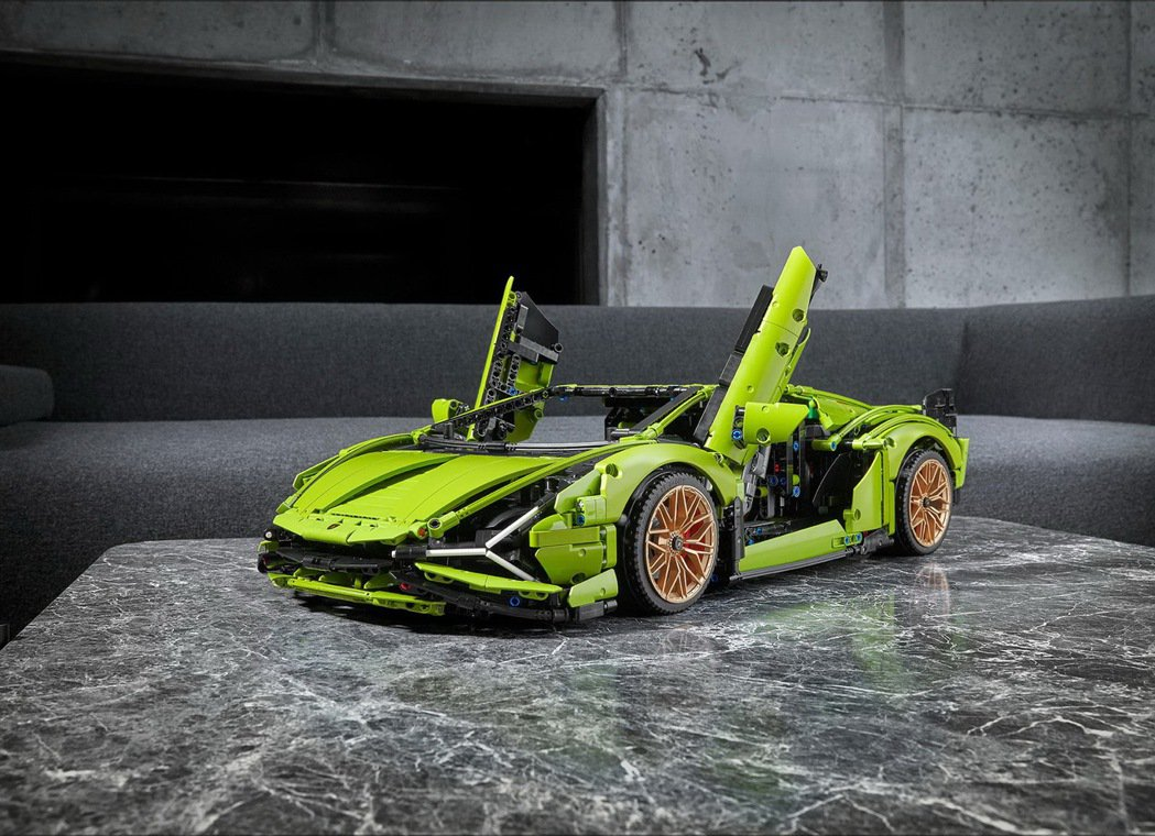LEGO_ Technic Lamborghini Sián FKP 37 萊...