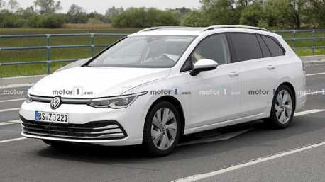大改款Volkswagen Golf Variant測試車曝光 跟示意圖說再見